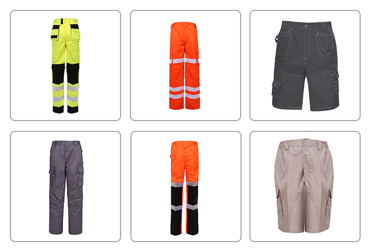 China construction workwear trousers men cargo work pants
