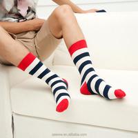 new colour stripes men crew socks casual harajuku dress business designer brand skate long fashion