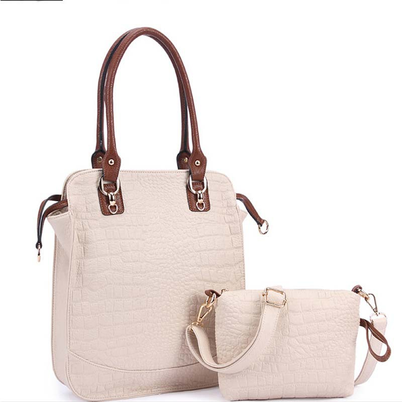 Get Quotations · women s handbags made of genuine crocodile skin bag  Crossbody bag brand fashion women handbag postman shoulder aa3aec5c6a2d0