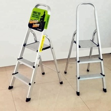 Domestic Daily Home Use Foldable Lightweight Double Side Folding Aluminum Step Ladder
