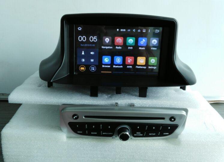 cran tactile voiture st r o pour renault megane iii 3 lecteur dvd avec gps tv radio bluetooth. Black Bedroom Furniture Sets. Home Design Ideas