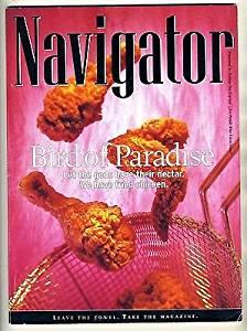 NAVIGATOR Holiday Inn Express Magazine December 1999 Fried Chicken Cover