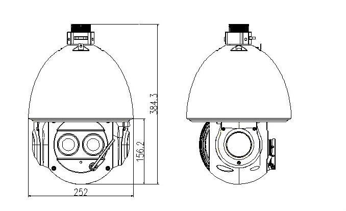 360 Degree Endless Pan Rotation Dahua Auto Tracking Ir Ptz Dh ...