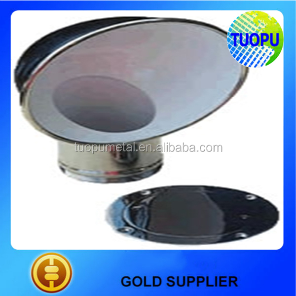 China Cheap Marine Yacht Round Deck Cowl Vents,Stainless Steel ...