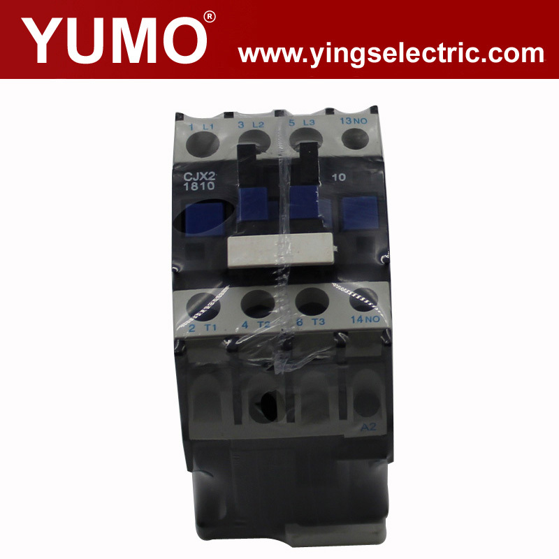 CE certificate CJX2-1810U6 3P 240V manufacturer silver alloy electrical ac contactor copper electric electrical contacto