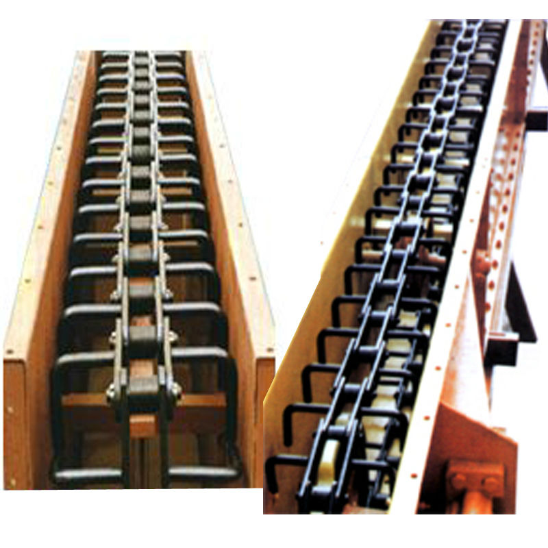 Industrial Heat Resistant Scraper Chain Conveyor for Chemical and Mining, coal mining scraper conveyors