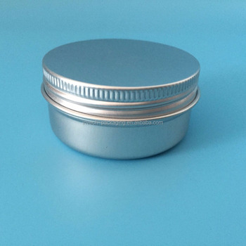 Small Tin Containers With Lids Air Metal Coffee Container 2oz Aluminum Candle