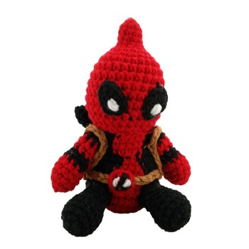 Hot Plush Toy Manufacturer Cheap Custom Deadpool Plush Toy No