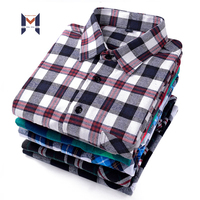 2020 Best Quality Custom Design Men Shirts Pattern Fancy Plaid Cotton Shirts For Men
