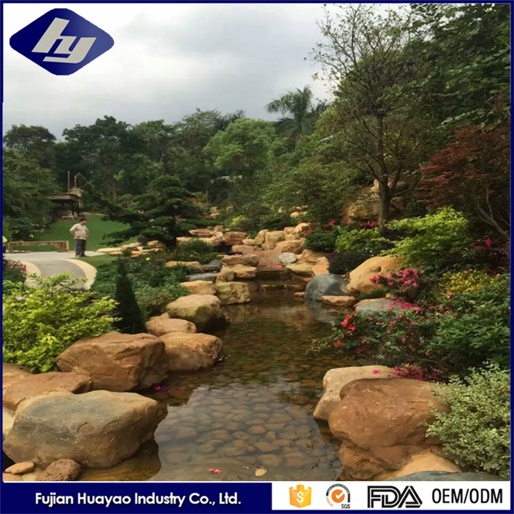 Chinese Colored Landscaping Stone Cheap Natural Grey Garden Stones