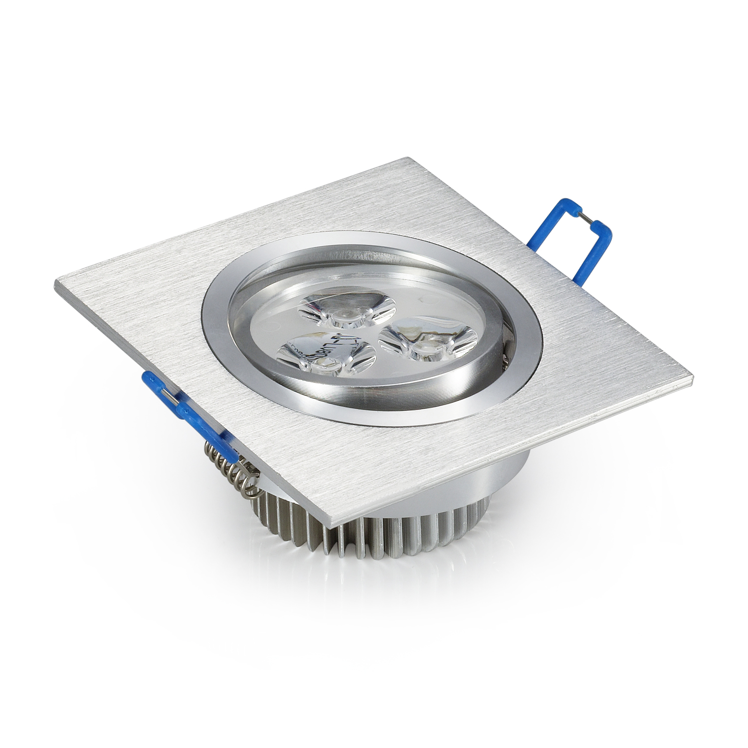 6 W High power verzonken led plafondlamp aluminium body led plafond spot lamp met goede kwaliteit