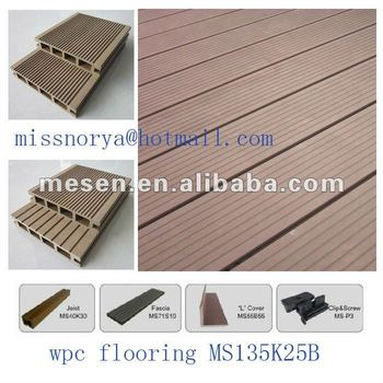 Recyclable Wood Plastic Grooved Flooring Decking Buy