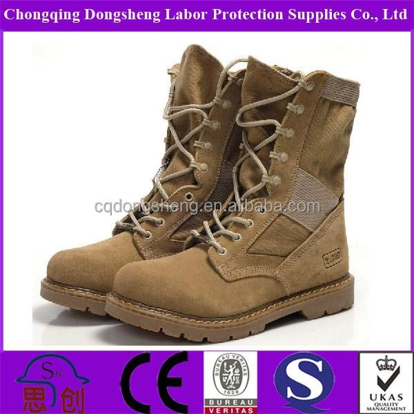 Spring Summer British Dubai Army Boots