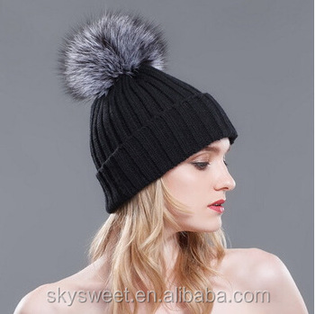 Teen Girls Women Fitted Winter Hats b19596590c9