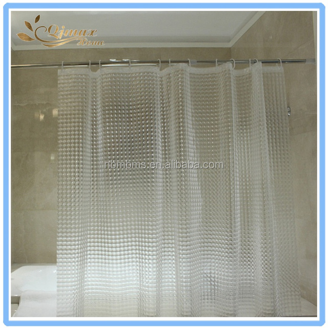 PEVA Antimicrobial PVC Free Shower Curtain Liner