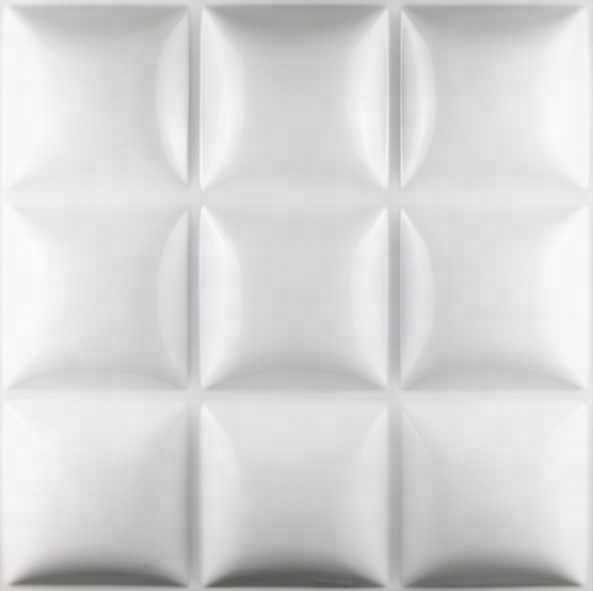 prefab 3D square wall panel system