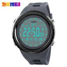 1246 skmei <span class=keywords><strong>montre</strong></span> 24 heures mouvement hommes conception populaire marques <span class=keywords><strong>électronique</strong></span> montres Grand <span class=keywords><strong>cadran</strong></span>