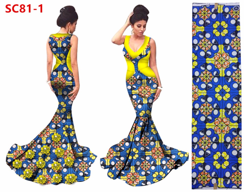 Robe Soiree Abendkleide 2017 Luxury African Evening Dresses Long Mermaid Party Dress Elegant Women wax print Prom Dress
