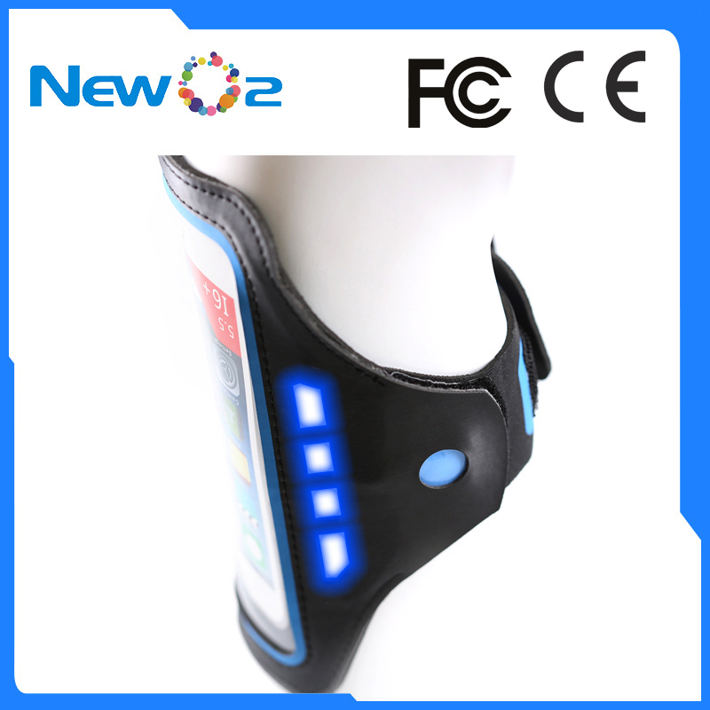 2017 New Simple style Light weighted Safety LED Light Fitness armband