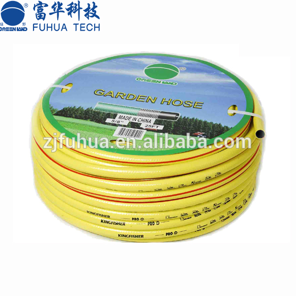High quality pvc air water flexible garden hose/ pvc high pressure korea spray hose