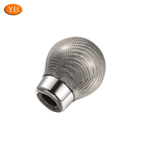 Stainless Steel Knurled Car Gear Shift Lever Knob