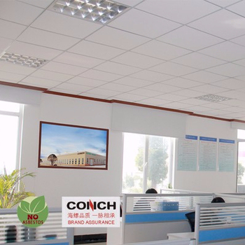Conch Waterproof Suspended Fiber Cement Ceiling Board ...