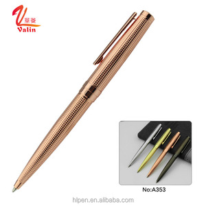 4 color to select carved laser pens with custom logo stationery product