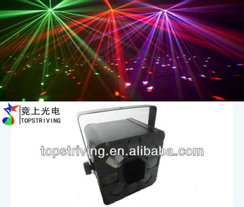 led moon flower effect with 8 lens disco night effect light led stage lights