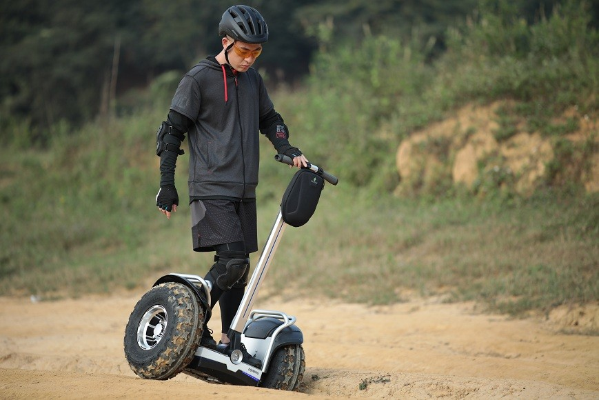Newly designed innovative two wheeled personal transporter