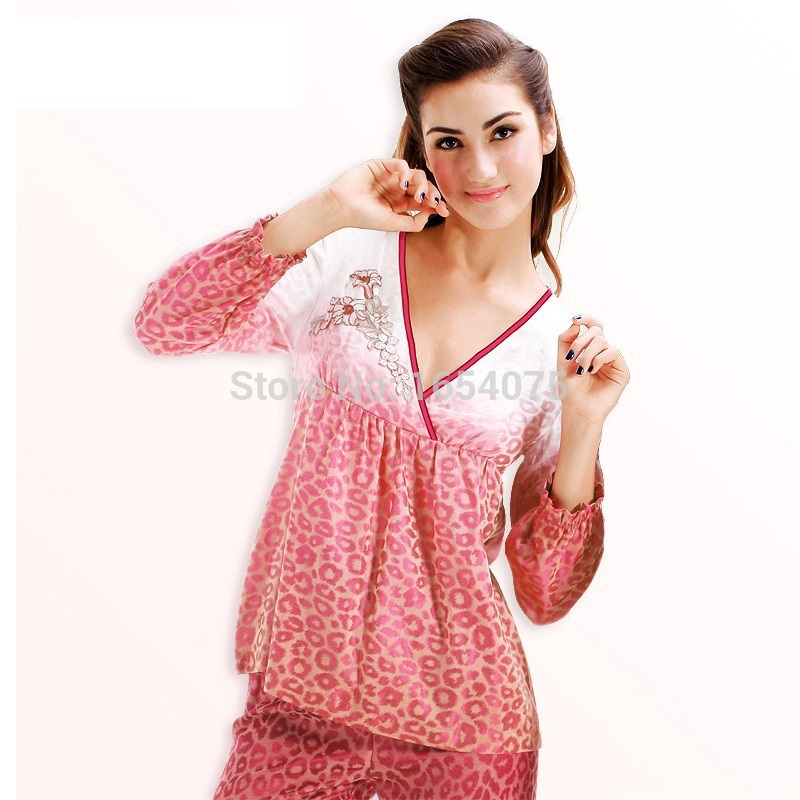 9eb2922d39 pyjamas women silk pajamas for women sleepwear V neck women sleepwear set  Ladies casual pyjamas womenpijama ladies pajamas