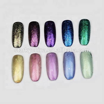 12 Colors Charming Nail Uv Gel Polish Acrylic Glitter Chrome Mirror Dip Powder Nails