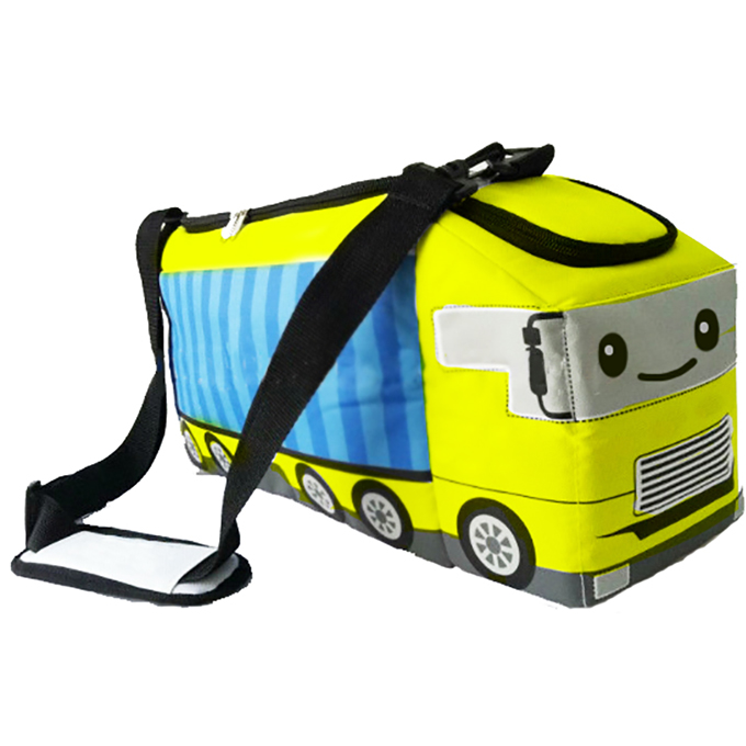 Osgoodway 2020 Hot Selling Great Price Car Toy Style Soft Canvas Beach Cooler Bag for Traveling Picnic