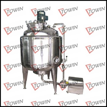 3000L Stainless Steel mixing tanks with pump and filter