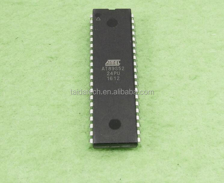 New Original 8-Bit Flash Microcontroller DIP-4 ATMEL AT89S52-24PU