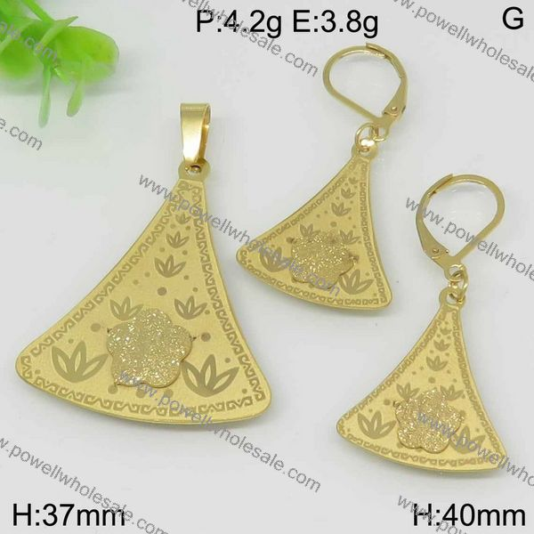 Stainless steel wholesale 24k chinese gold jewelry
