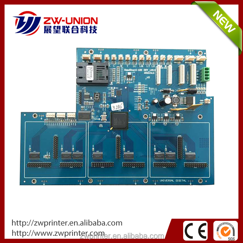 Best selling technical original infiniti 3286 printhead converting board