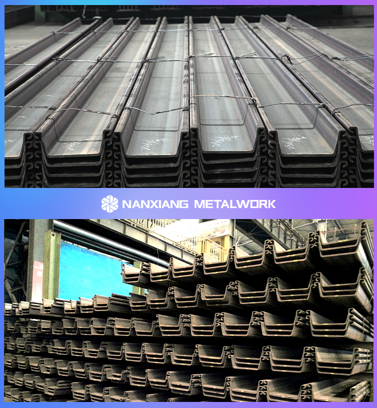 structural channel u type steel sheet pile price