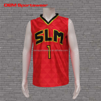 05732eeebd9f Custom Dye Sublimation Reversible Basketball Practice Jersey - Buy ...
