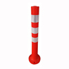 PVC/PP/PE/TPU Road Parking Sign Warning Post Road Safety Warning Flexible Traffic Delineator Post
