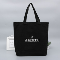 High Quality Promotional China made printed logo cotton canvas tote bag hand shopping bag