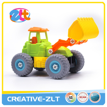 Plastic tool truck assemble educational toys for children