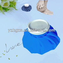 classical blue plain colour fabric ice cooler bag for ice or cool water