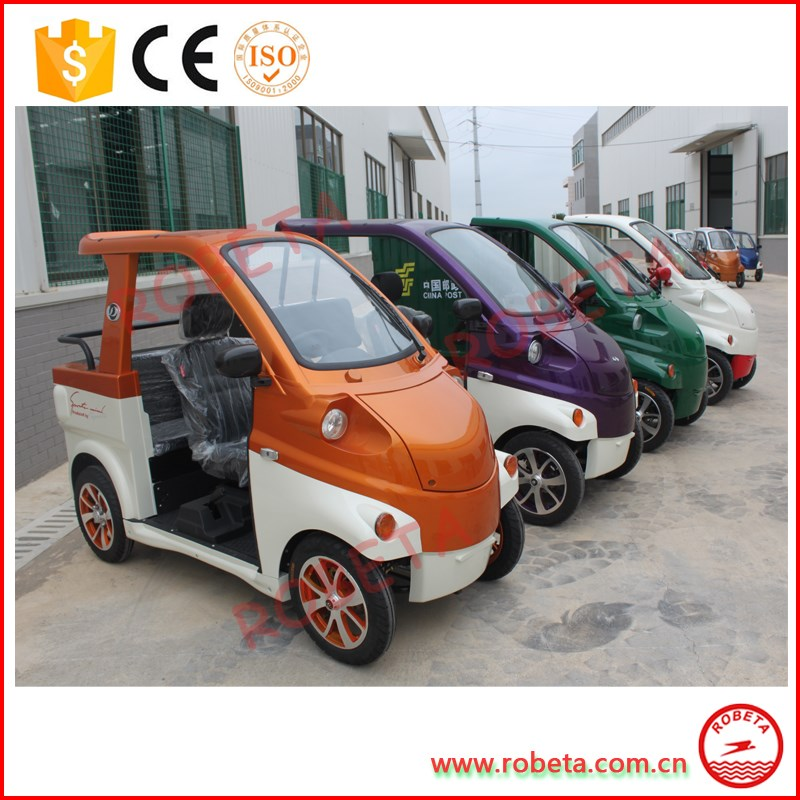 Rechargeable Easy Operating Street Utility Electric Car