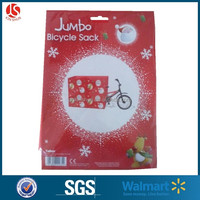 Dollar General giant christmas bag for bike with insert card