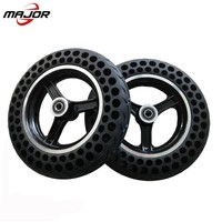 10 inch honeycomb run-flat explosion-proof tyre solid tubeless scooter tyres