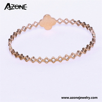 Jade bangle zircon hollow crystal women bangle jewelry