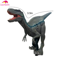 KANO8714 Hot Selling 2016 Animatronic Adult Raptor Dinosaur Costume