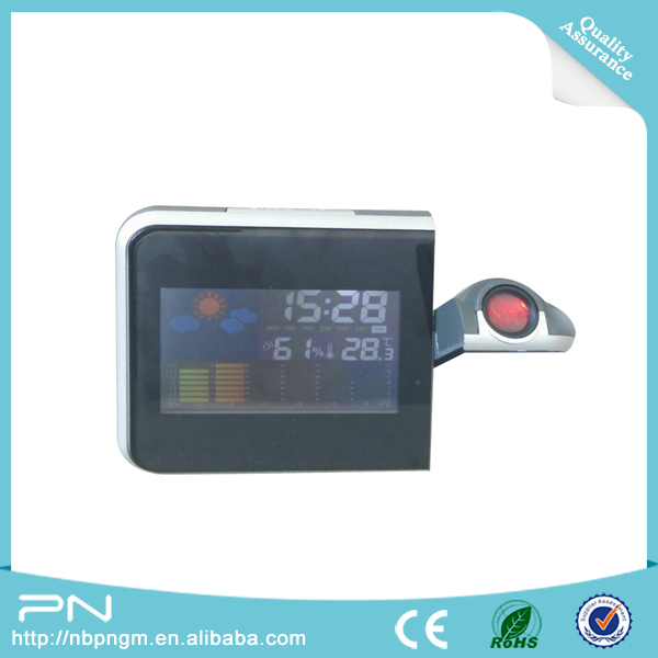 Weather Station USB Electronic Clock with Projector
