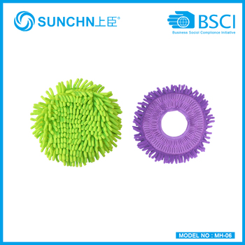 colorful microfiber mop refill