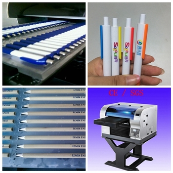 Multifunction cheap price digital pencil uv printing machine for sale